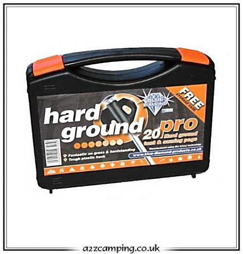 Bearclaw Heavy Duty Rock Hard Ground Peg Set