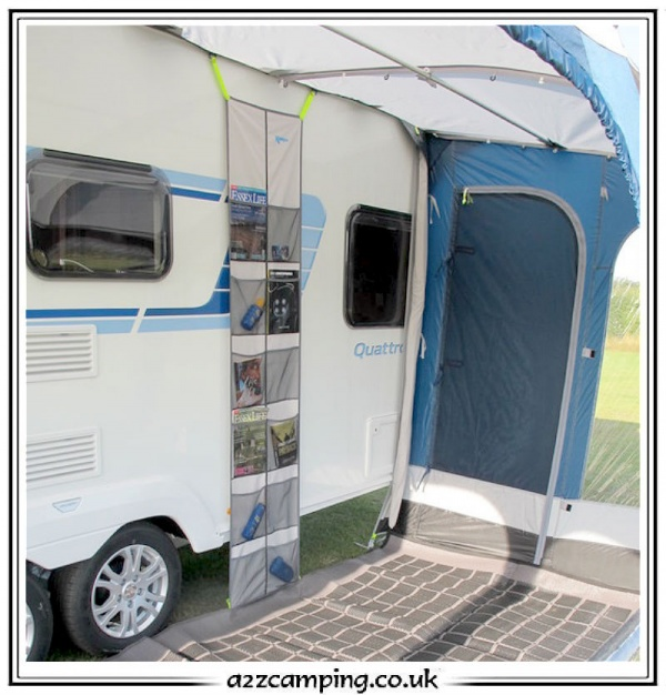 Kampa Rally Awning Organiser For NEW Kampa Accessory Track