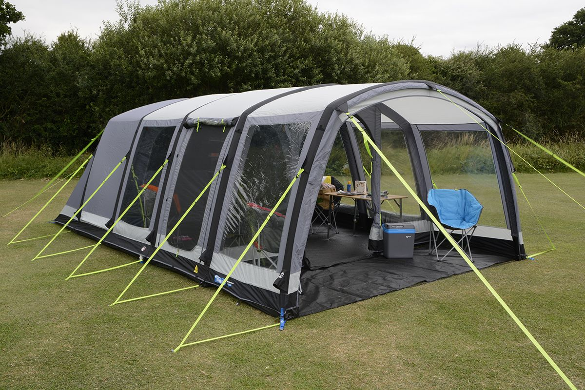 & Kampa Hayling 6 AIR Pro Inflatable Tent | 2018
