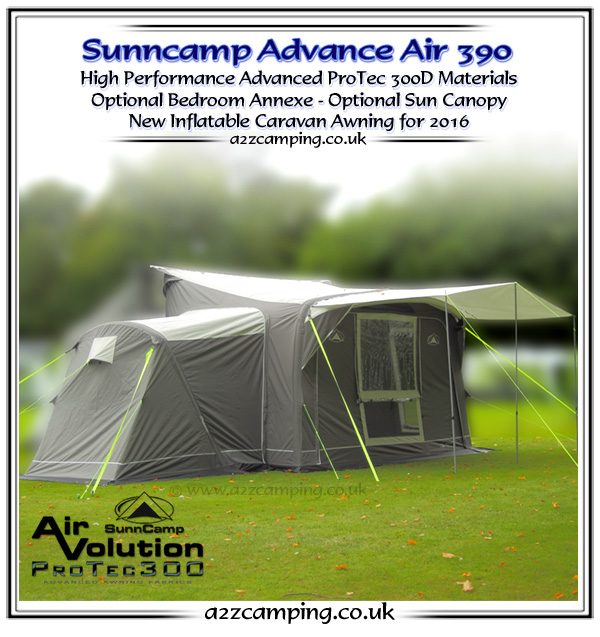 Sunncamp Advance 390 Air Heavy Duty Inflatable Awning