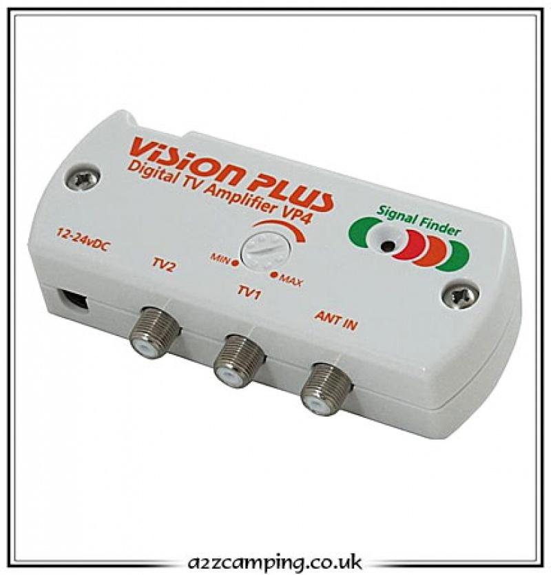 Digital Tv Amplifier Signal Finder Vp4 Vision Plus Vp4
