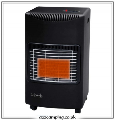 Lifestyle HeatForce Portable Cabinet Gas Heater (Black)