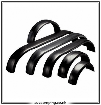 Black Trailer Replacement Mudguard