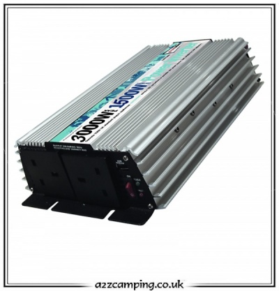 Streetwize 3000 Watt Power Inverter - 1.5kw 3kw