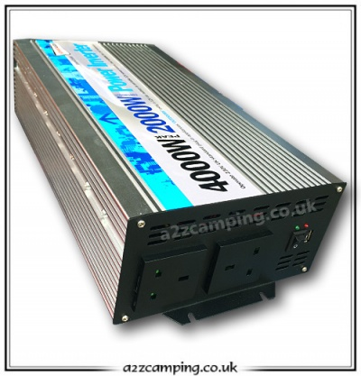 Streetwize 4000 Watt Power Inverter - 2kw 4kw