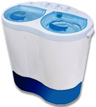Leisurewize Portawash Twin Tub Washing Machine for Camping