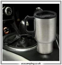 12v Electric Stainless Steel Travel Mug