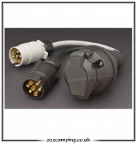 13 Pin Euro Socket Conversion Lead 2x 7 Pin