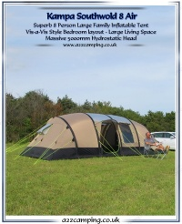 Kampa Southwold 8 Air Large Inflatable Tent