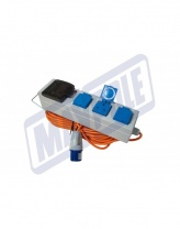 Maypole Mobile Mains Power Unit with 3 Sockets and USB
