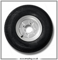 400x8 4 Ply Erde Trailer Spare Wheel & Tyre