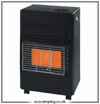 4.2kW Black Portable Gas Cabinet Heater