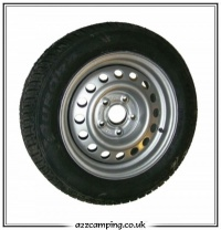 5 Stud 5.5J x 14H2 Replacement Caravan Wheel and Tyre