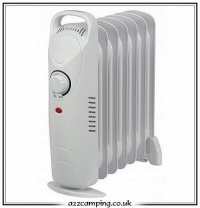 Quest 700 Watt Mini Oil Filled Radiator Heater