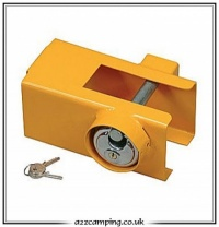 Universal Trailer & Caravan Guardian Coupling Lock