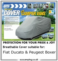 Fiat Ducato Peugeot Boxer 4 Ply Breathable Campervan Cover