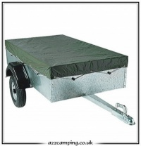 Extra Heavy Duty Winter Trailer Cover