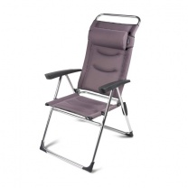 Kampa Milano Lusso Aluminium Reclining Chair - Wild Heather