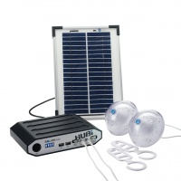 Solar Powered Hubi 2K Awning Tent Lighting System
