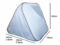 Sunncamp 3 Berth Universal Pop Up Awning Inner Tent