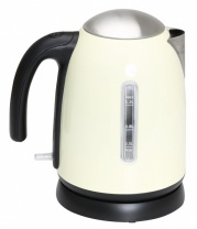 1.2L Stainless Steel Kettle   Cream