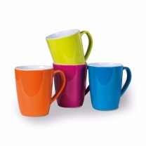 Kampa Mixed Colours Summer Mug 4 Piece Set