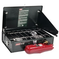 Coleman Dual Fuel Double Burner