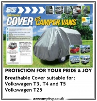 Volkswagen T3 4 Ply Breathable Campervan Cover