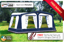 Camptech Cayman Full Touring Awning Blue - Limited Edition