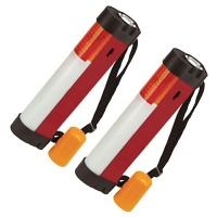 4 in 1 Multi Function Camping Caravan Roadside Light (Twin Pack)