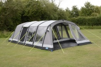 Kampa Croyde 6 Classic AIR Pro Inflatable Polycotton Tent | 2018