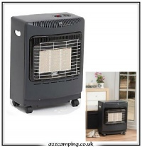4.2kW Mini Mobile Portable Gas Heater (Black)