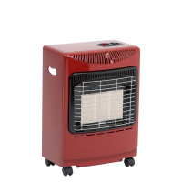 4.2kW Mini Mobile Portable Gas Heater (Red)