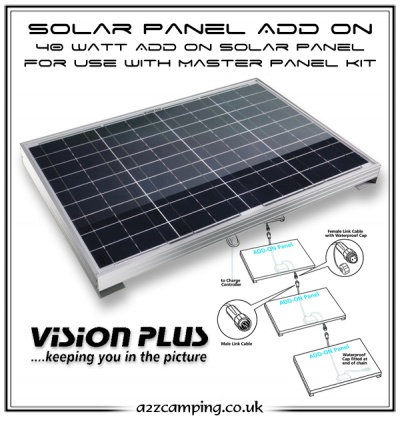 Vision Plus Solar Add On Panel