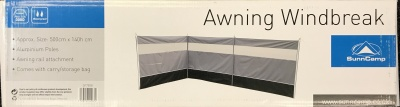 Sunncamp Awning Heavy Duty Windbreak